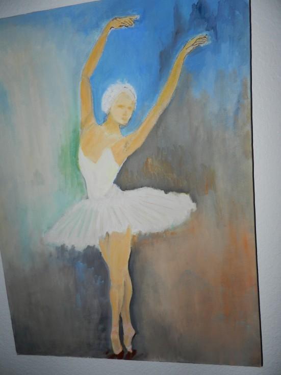 BALLERINAoil on canvas 14x24
