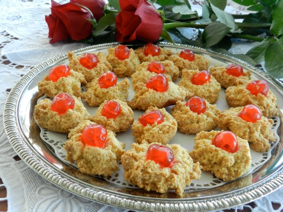 Aunt Silvia's Almond Chews.